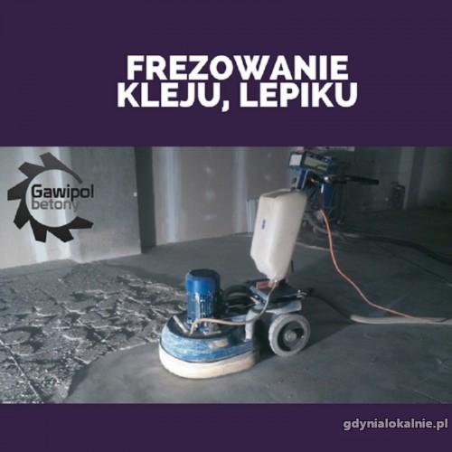 Usuwanie subitu, usuwanie lepiku -Frezowanie betonu Gdynia