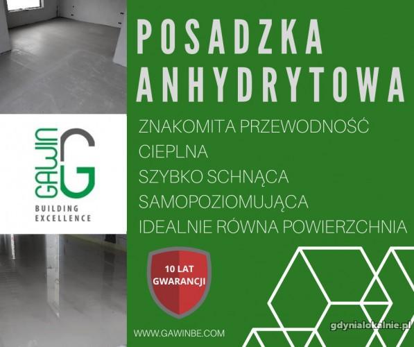 Wylewka anhydrytowa - Gdynia